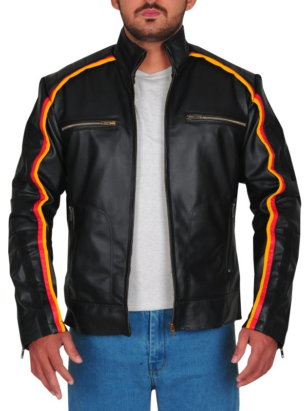 party wear black leather jacket, black leather jacket for teens