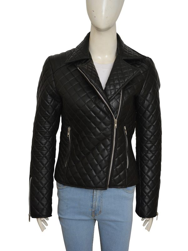 brando leather jacket for women, puffer brando leather jacket women