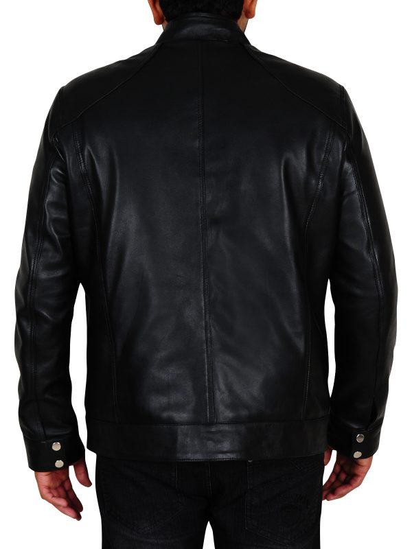 black leather jacket for college boys, black leather jacket for teens