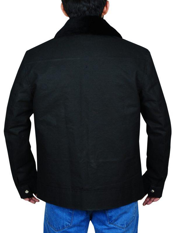 zac efron cotton jacket, zac efron black jacket