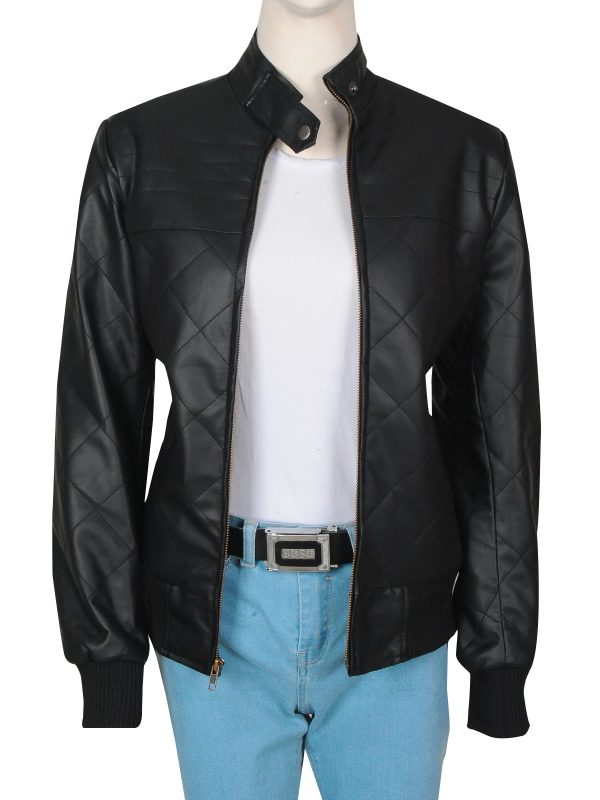 black leather jacket for women, leather jacket for women