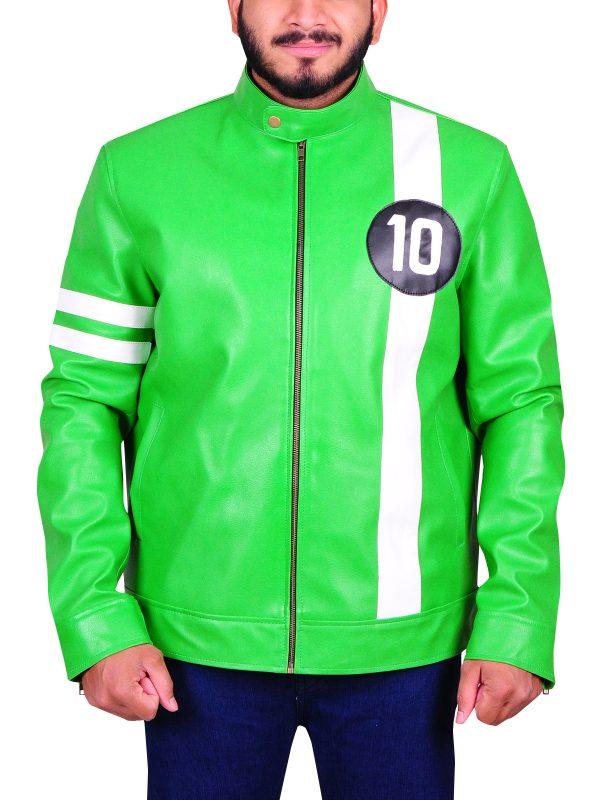2018 leather jacket, new trending leather jacket, green
