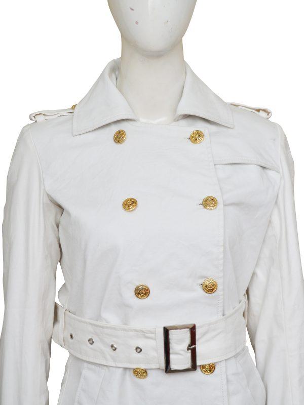 elegant white long coat, perfect long coat for women,