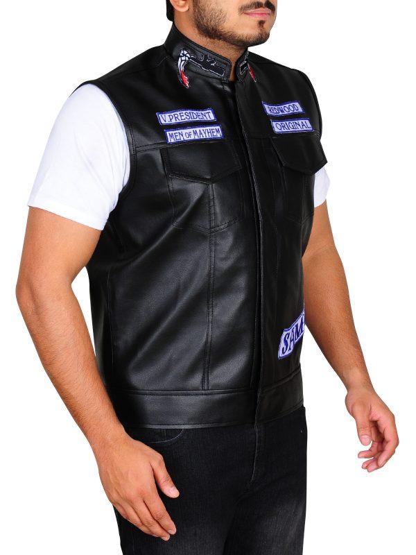 sons of anarchy men vest trending, buy sons of anarchy men vest