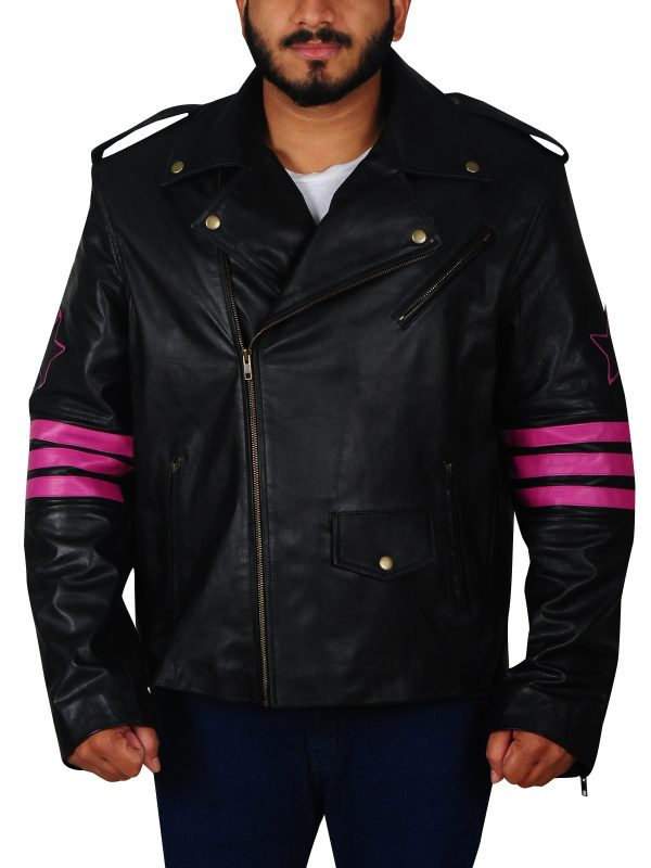 black brando jacket, black brando jacket for men