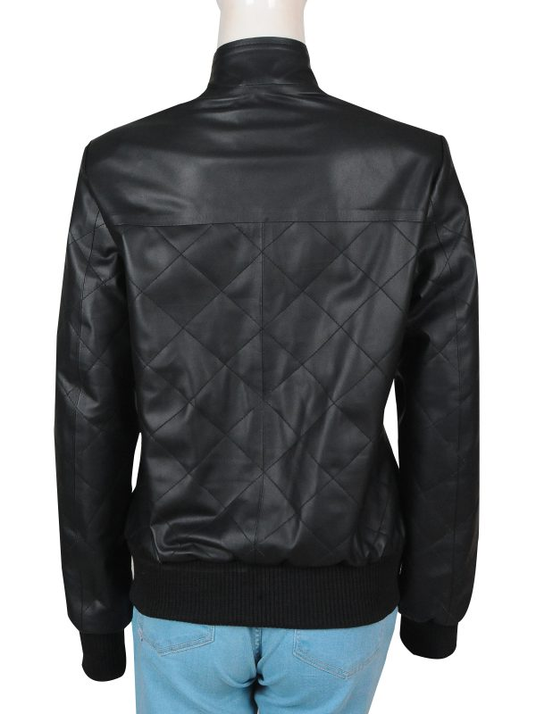 black leather jacket, teen girl leather jacket