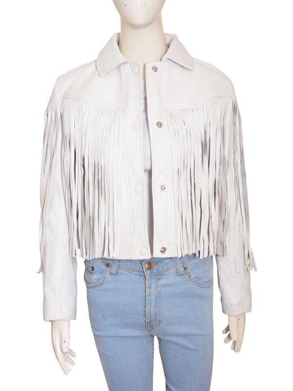 cowgirl jacket fringe trims, cow girl fringe jacket