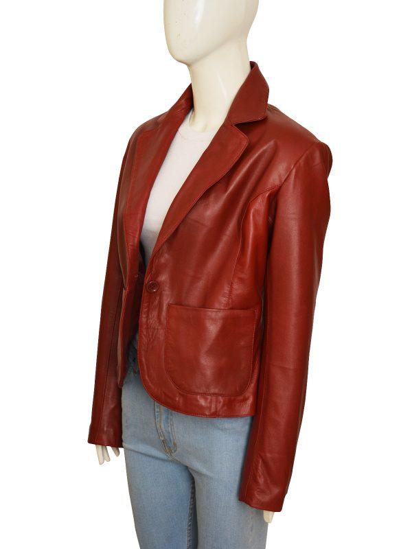 trendy maroon blazer for women, mauvetree, mauve tree