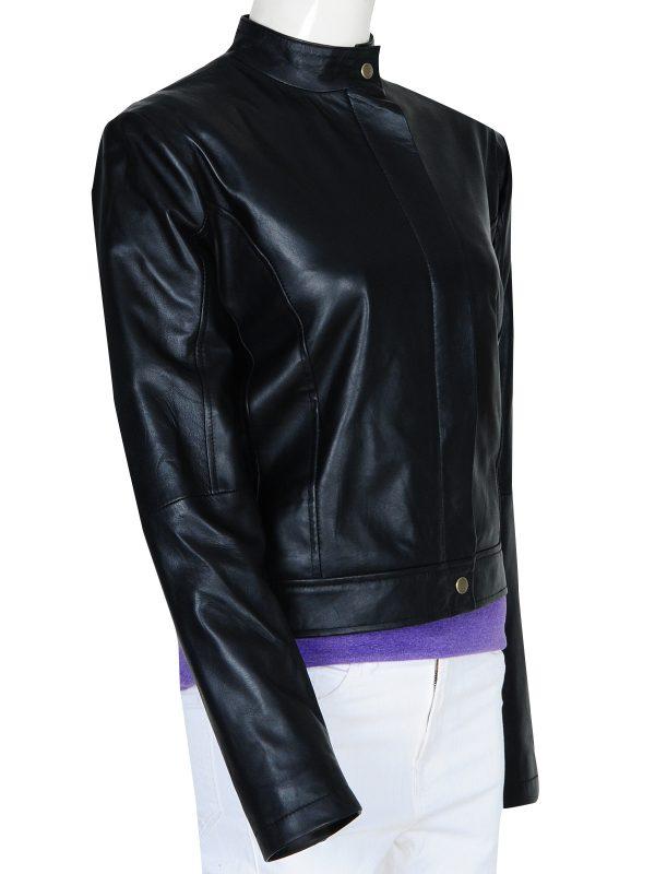 Diana Prince black jacket, diana prince leather jacket