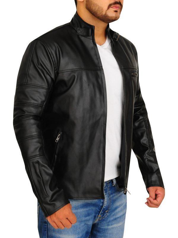 black biker jacket for boys, black biker jacket for men,