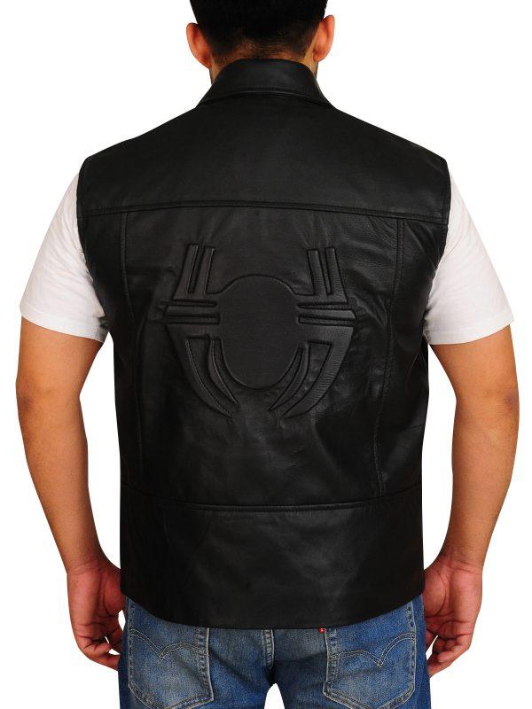dashing leather vest, stylish leather vest,