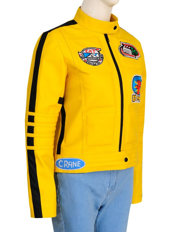 yellow biker jacket, yellow biker jacket for women