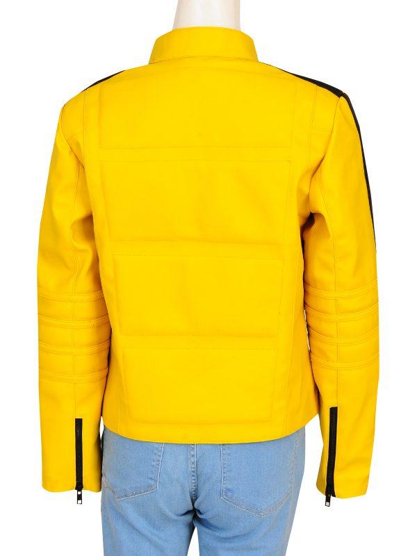 yellow leather jacket for women. women yellow jacket