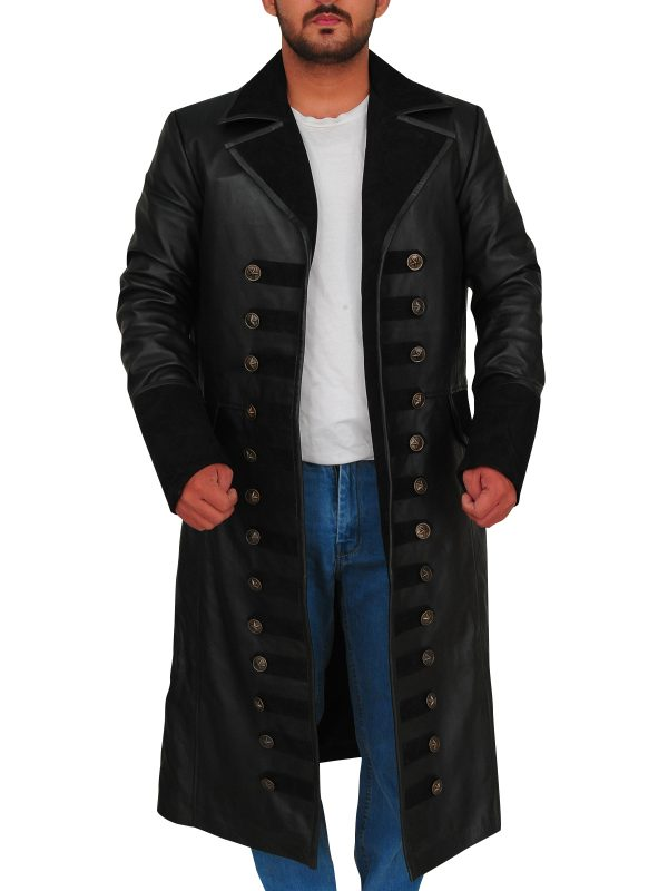once upon a time trench coat, captain jones trench coat,
