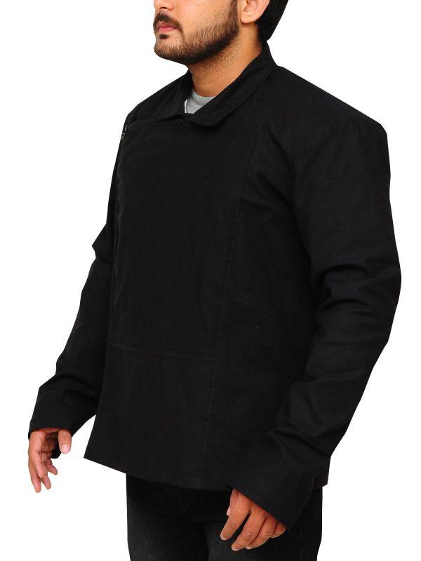 return of the jedi black jacket, mark hamil black jacket,