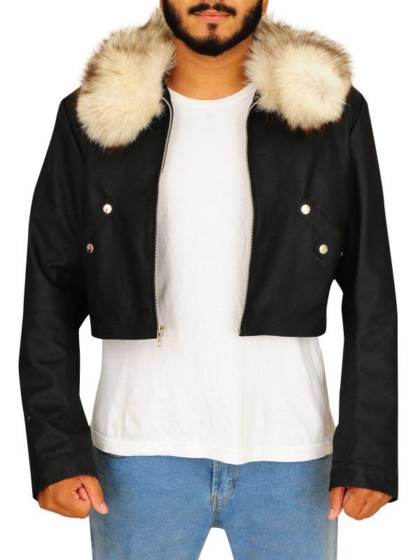 faux fur men jacket, fur men jacket,
