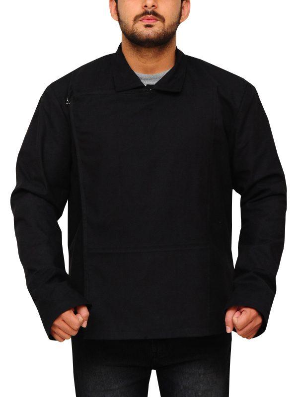 black cotton movie jacket, star wars cotton jacket,