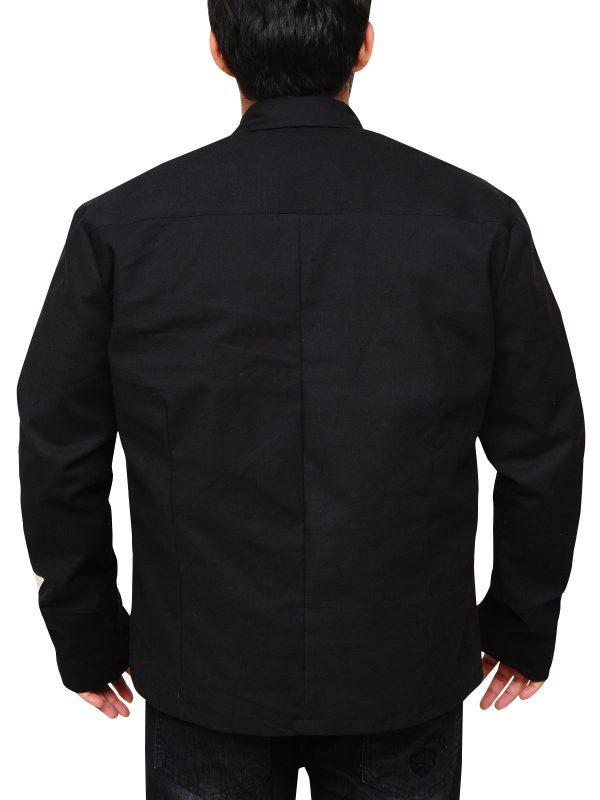 black cotton star wars jacket, black star wars jacket,