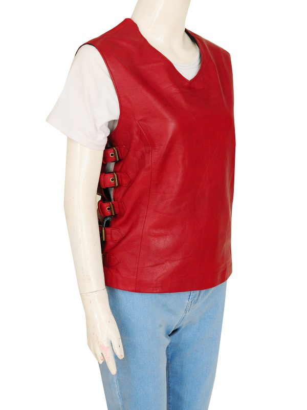 dashing maroon vest for women, dashion maroon vest for girls,