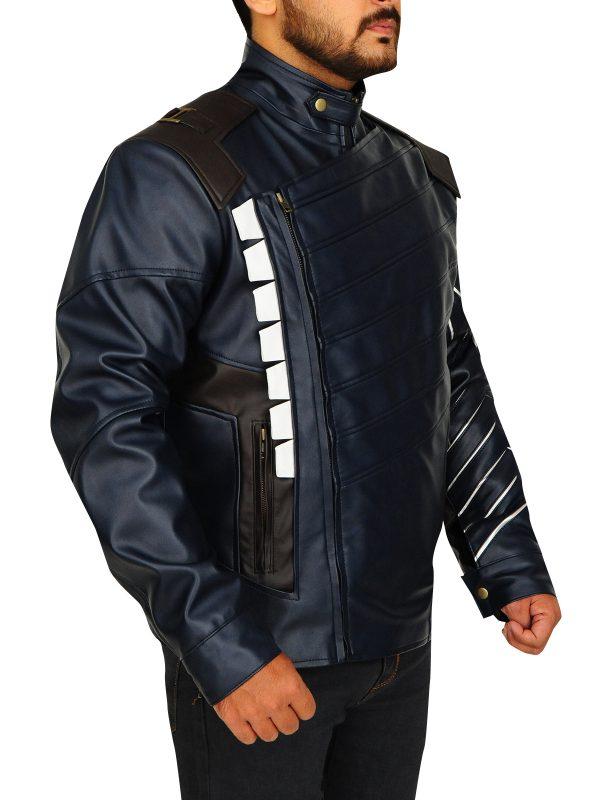men's avengers jacket, infinity wars leather jacket,