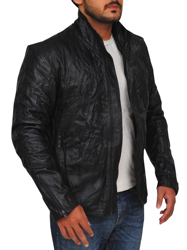 mission impossible leather jacket, men leather jacket,