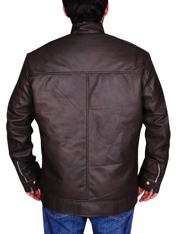 stylish brown jacket, Men's brett dalton brown jacket,