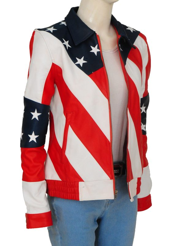 women country flag jacket, country flag jacket for women,