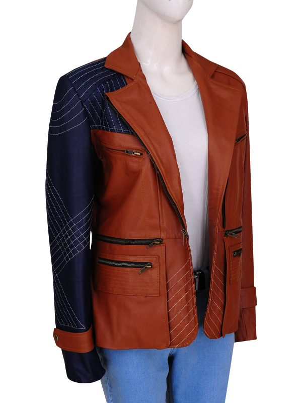 The vampire slayer and angel jacket, Dexter leather jacket,