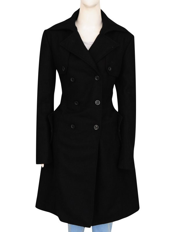 black long coat for women, women black long coat,