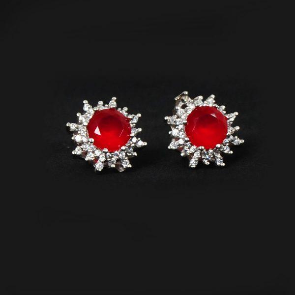 stylish red women earrings, trending red women earrings,