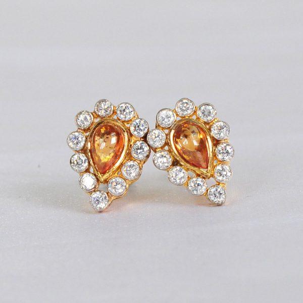 rain drop style earrings, part wear women earrings,