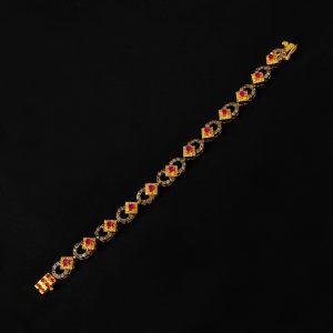 women arm bracelet, golden color arm bracelet,