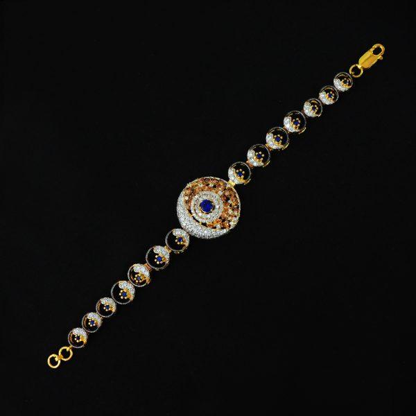 gold and silver plated bracelet, women trending bracelet,
