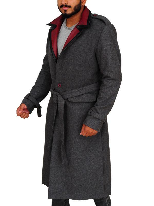 long coat for men, classic coat
