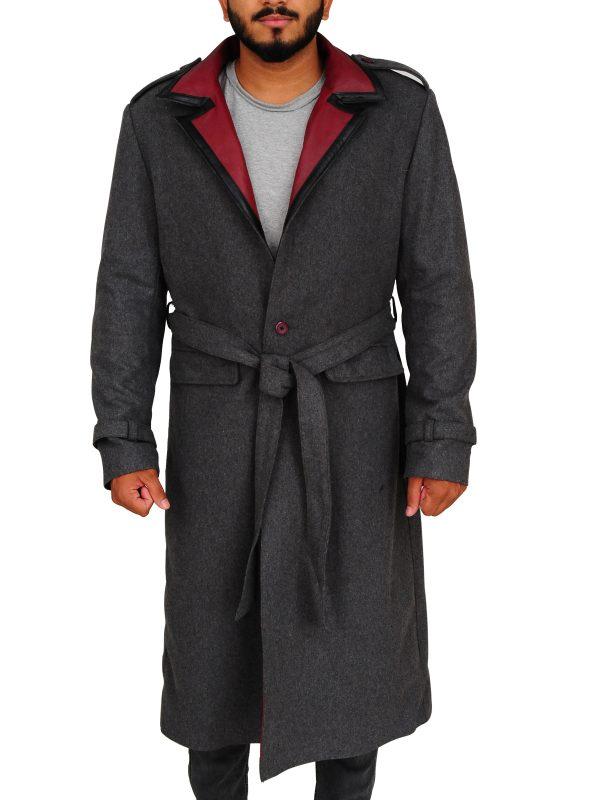 vampyr coat, grey coat