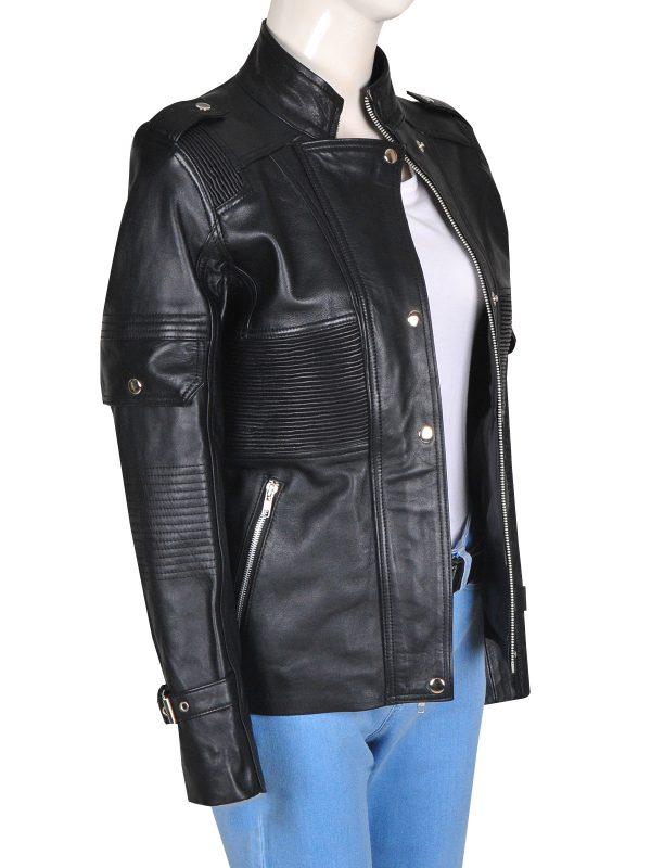 women leather jacket, women fashion leather jacket,