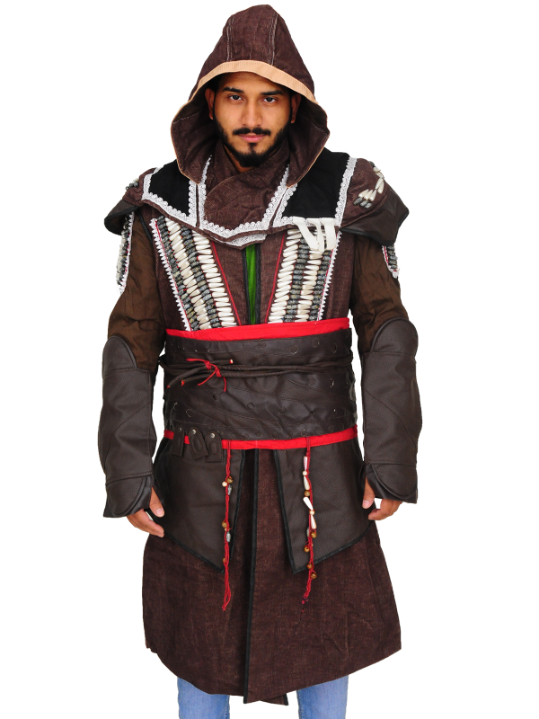 game assassin creed costume, gamer cosplay costume,