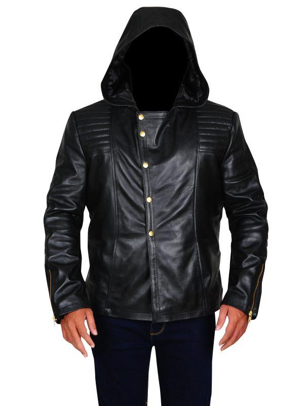 hoodie black jacket, men hoodie jacket in black,
