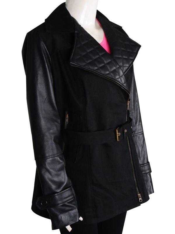 Rizzoli & Isles Maura Isles Black Coat, Rizzoli & Isles Maura Isles Black Jacket,