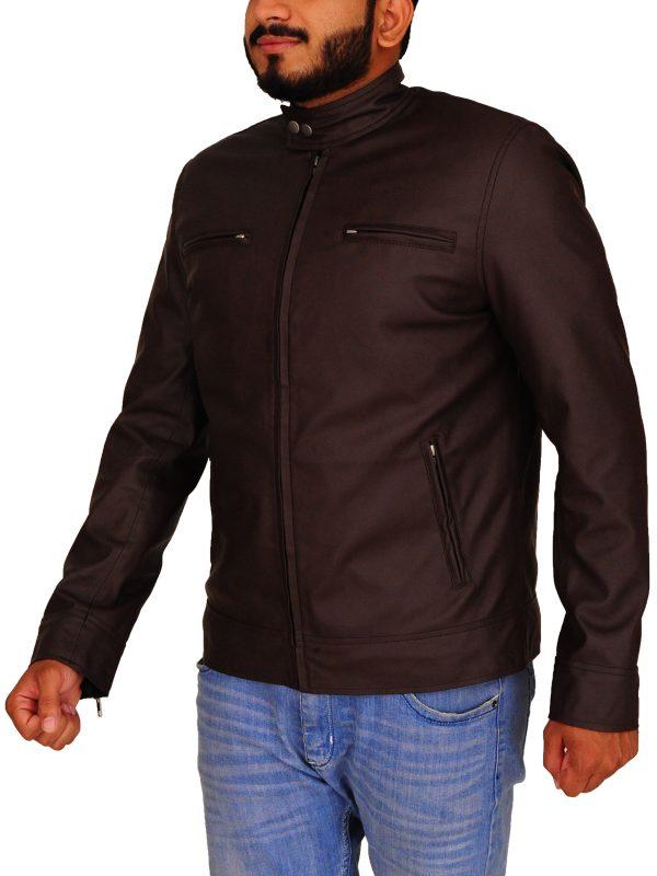 trending men brown jacket, trend jacket brown men,