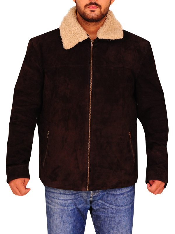 faux fur collar jacket for men, faux fur collar jacket men,