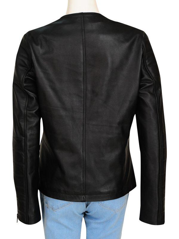 clara oswald leather jacket, claa oswald black jacket,