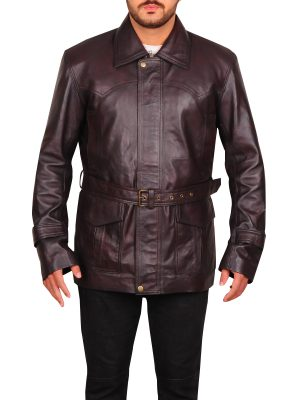 dark brown james bond jacket, james bond leather jacket,
