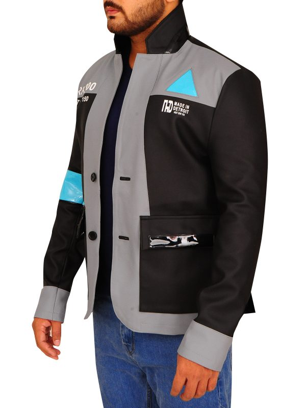 detriot become human black jacket, detriot become human character jacket,