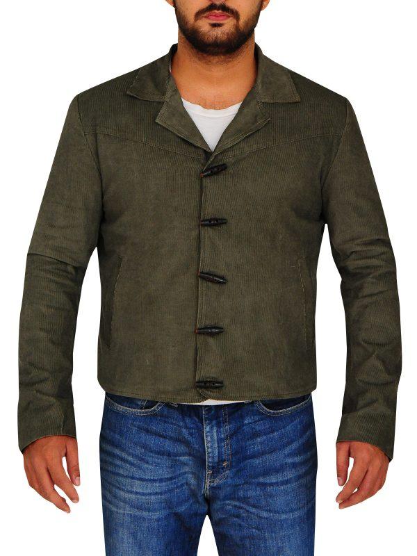 short body grey jacket for men, slim fitted jacket for men,