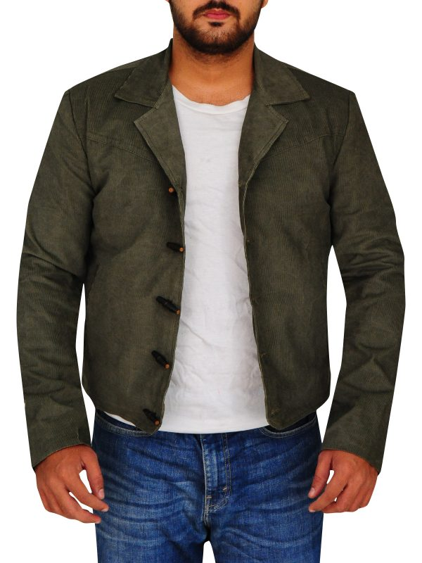 winter sale on cotton jackets, men cotton jacket in grey color,