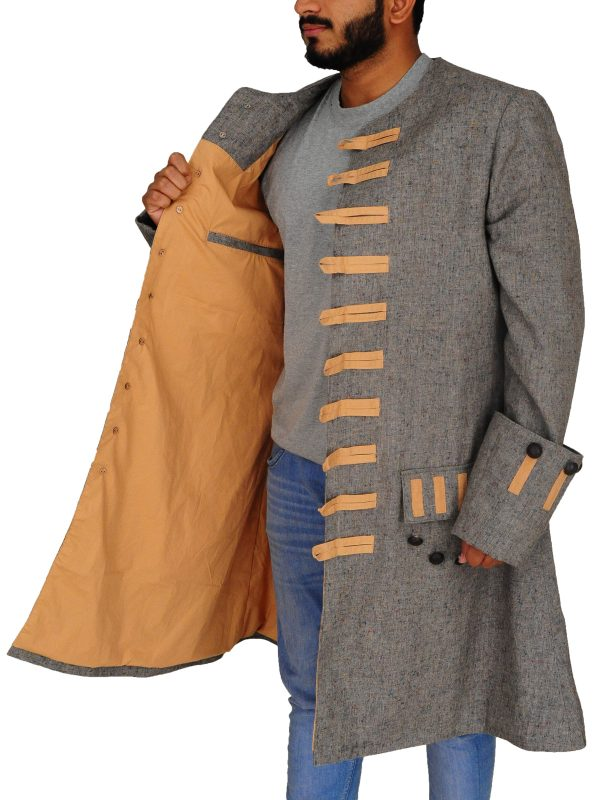 jack sparrow cosplay costume, jack sparrow jacket,