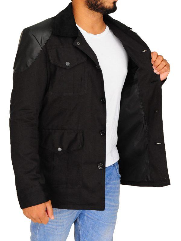 trending series black jacket, dr watson black jacket,