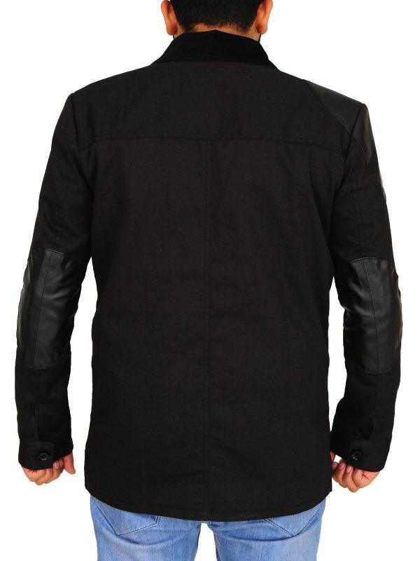 sherlock holmes black cotton jacket, sherlock holmes john watson jacket,