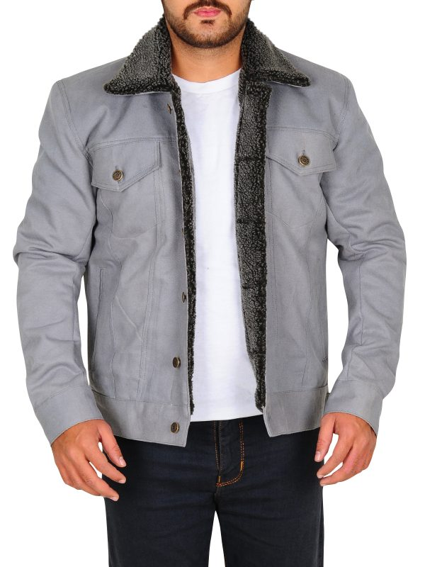 riverdale grey jacket, riverdale grey men jacket,
